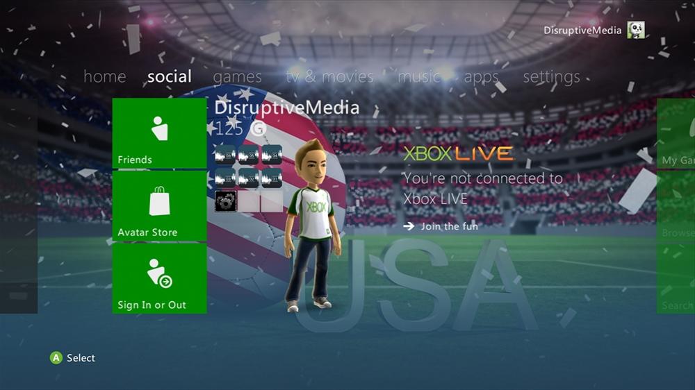 Imagen de World of Football - USA Theme