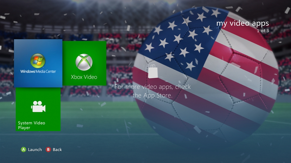 Imagen de World of Football - USA Theme