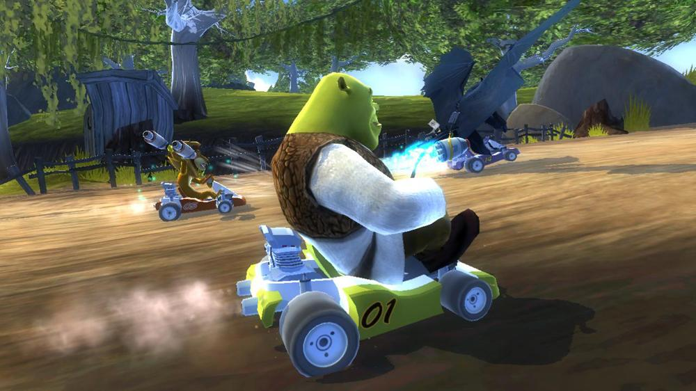 Image from DreamWorks Kartz