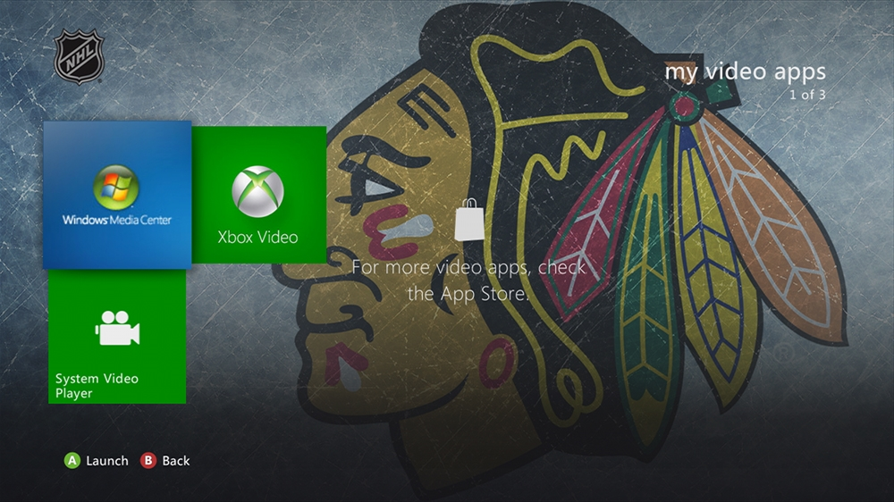 Image from NHL - Blackhawks Highlight Theme
