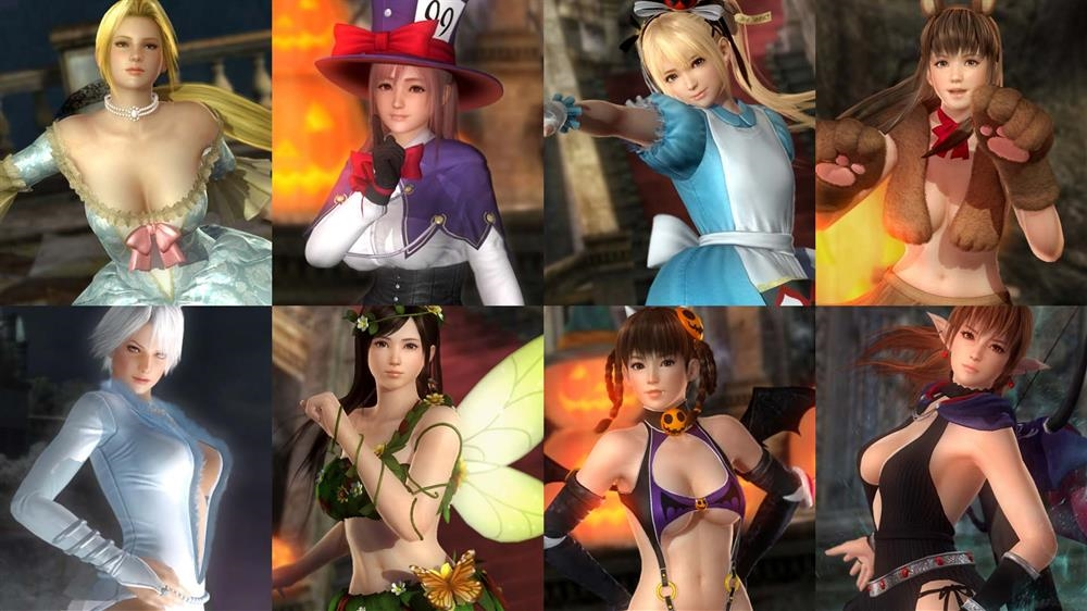 Image from DOA5LR Halloween Costume 2015 R Set