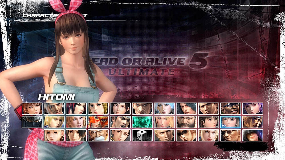 Image from Dead or Alive 5 Ultimate Hitomi Overalls