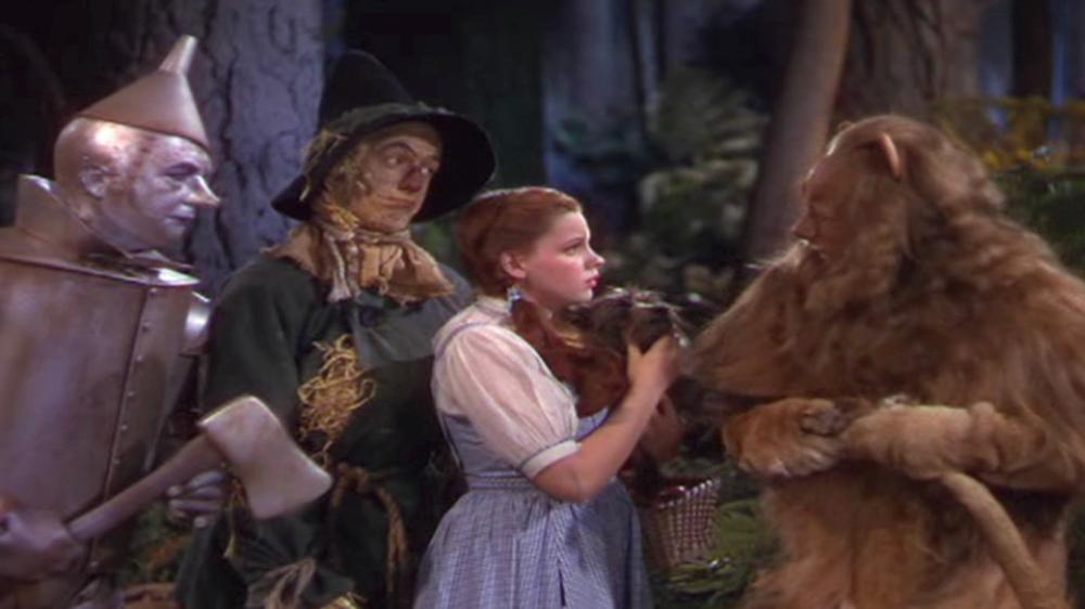 Image from Dorothy meets the Cowardly Lion