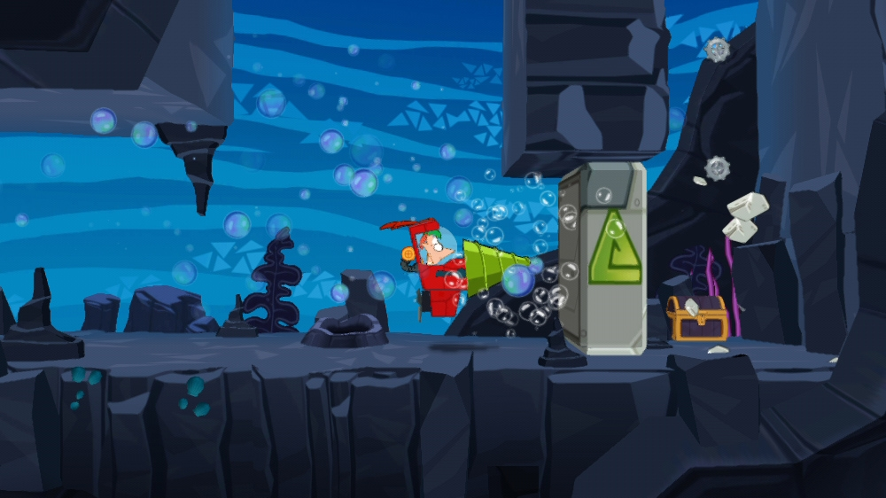 Imagenes Phineas And Ferb Quest For Cool Stuff XBOX 360