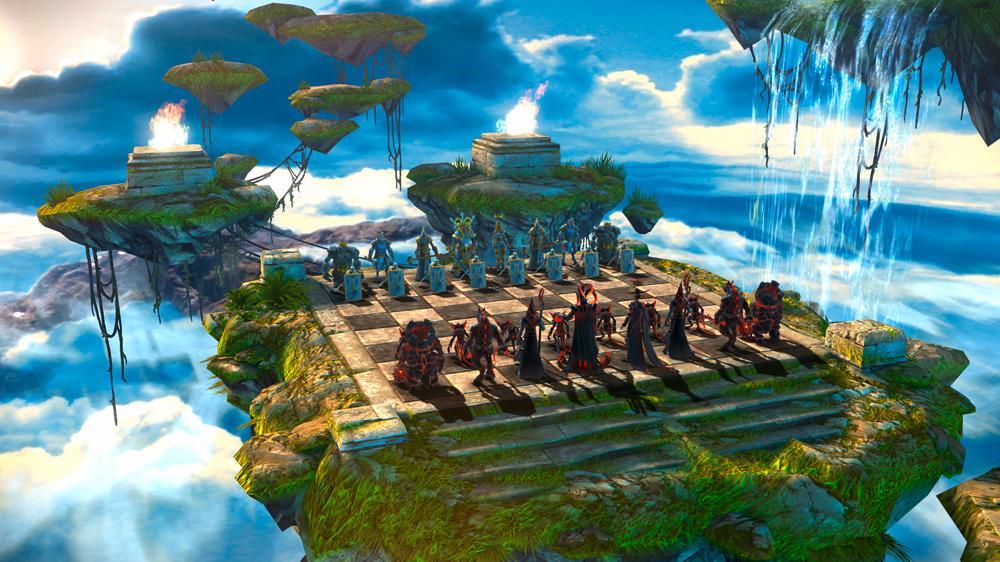 Imagen de Mapa de la Isla flotante et campaña te está esperando.