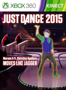 "Just Dance 2015 - ""Moves Like Jagger"" by Maroon 5 Ft. Christina Aguilera"