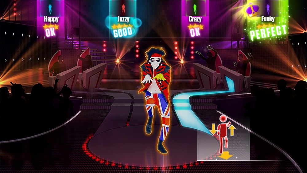 "Image from Just Dance 2015 - ""Moves Like Jagger"" by Maroon 5 Ft. Christina Aguilera"