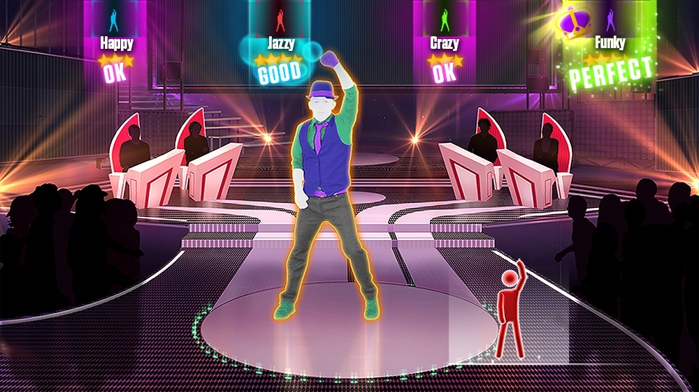"Image de Just Dance 2015 - ""Moves Like Jagger"" by Maroon 5 Ft. Christina Aguilera"
