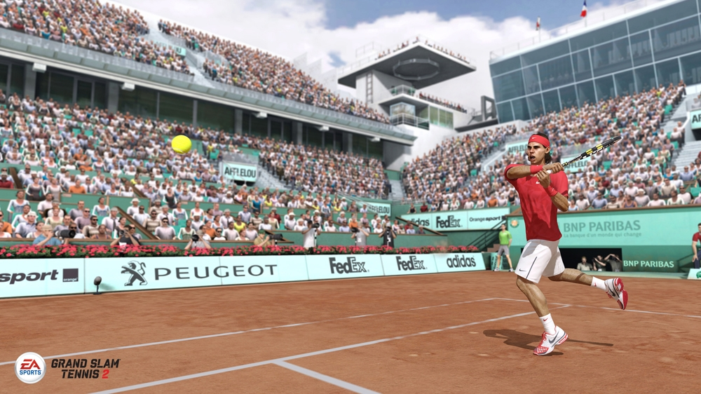 Image from EA SPORTS™ Grand Slam® Tennis 2 - Producer Video 2: Gameplay Features