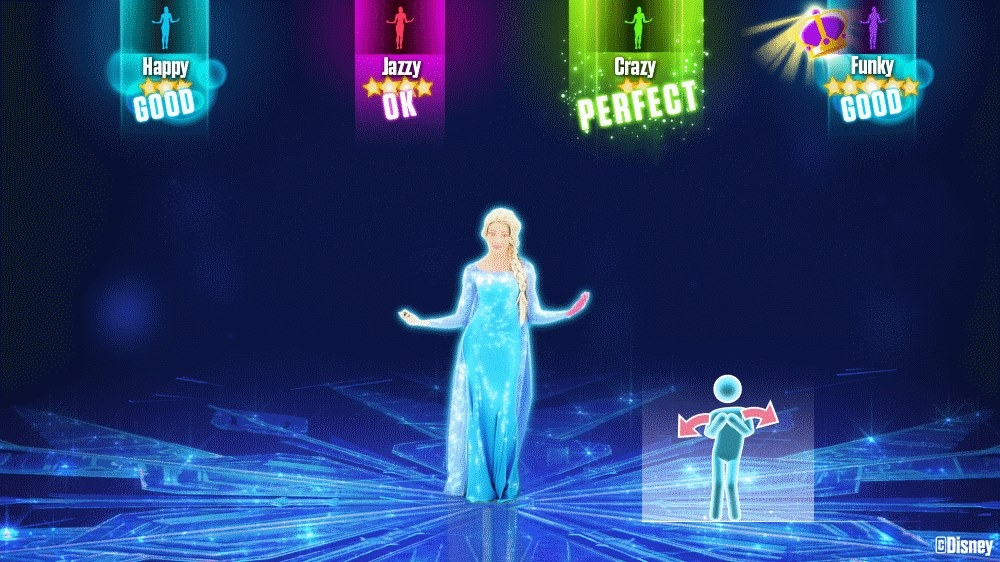 "Image from Just Dance 2015 - ""Let It Go"" by Disney Frozen"