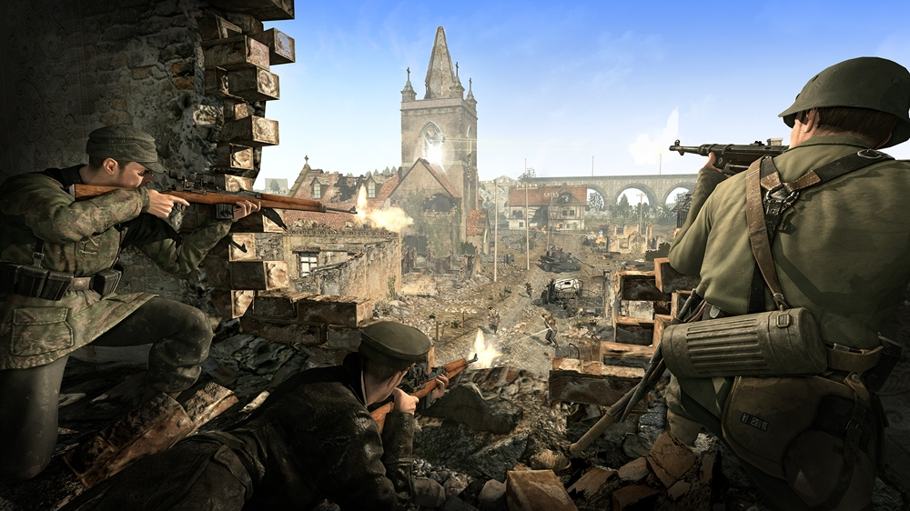 Image from Sniper Elite V2 Neudorf Outpost additional content
