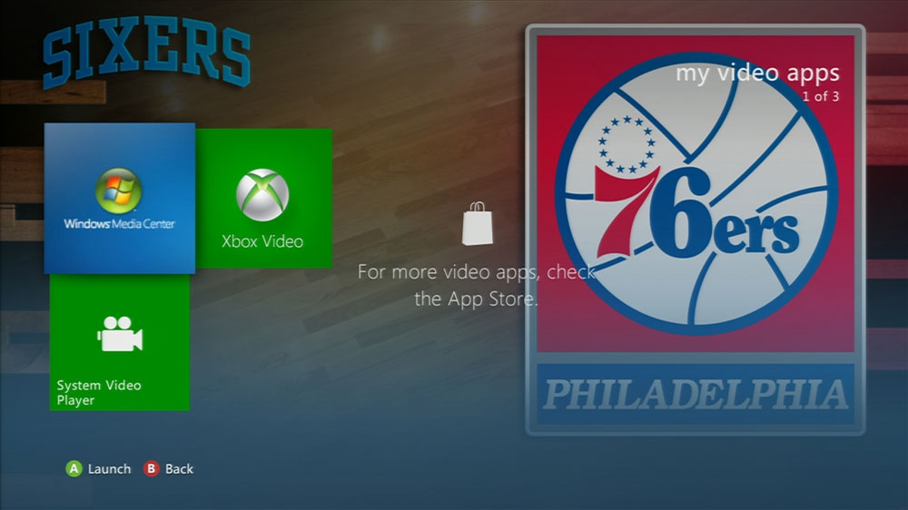 Image from NBA: 76ers Game Time