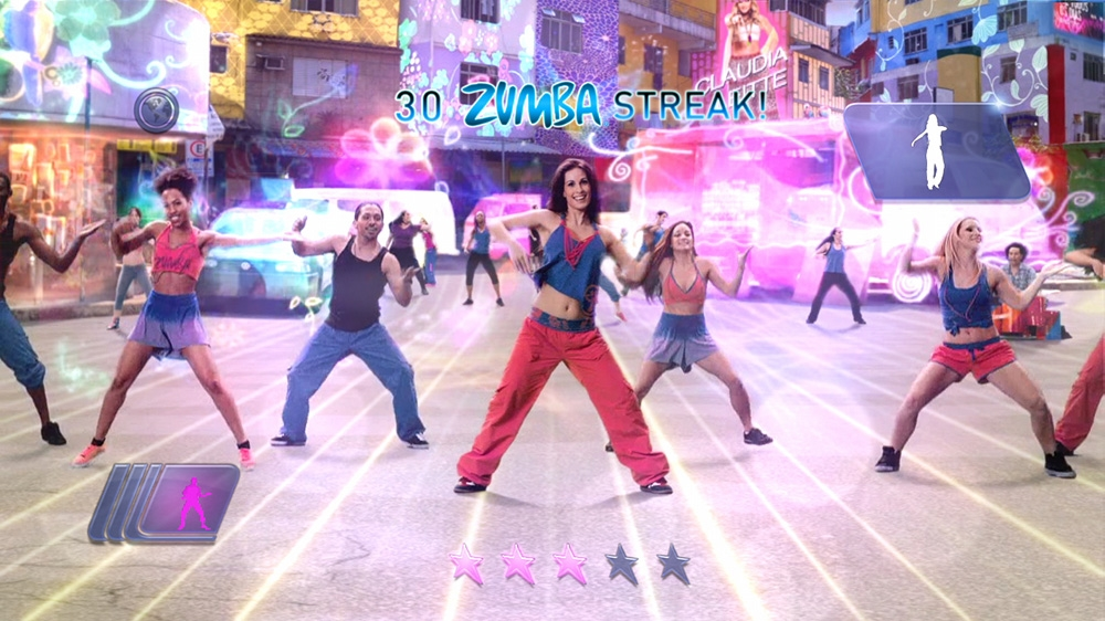 Image from Zumba Fitness World Party Trailer