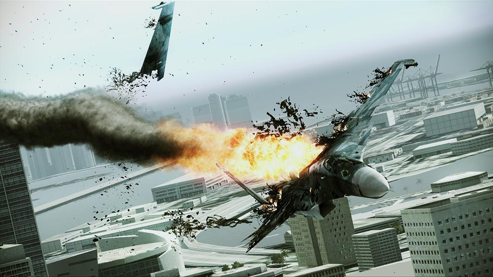 Image from ACE COMBAT ASSAULT HORIZON Close-Range Assault Trailer
