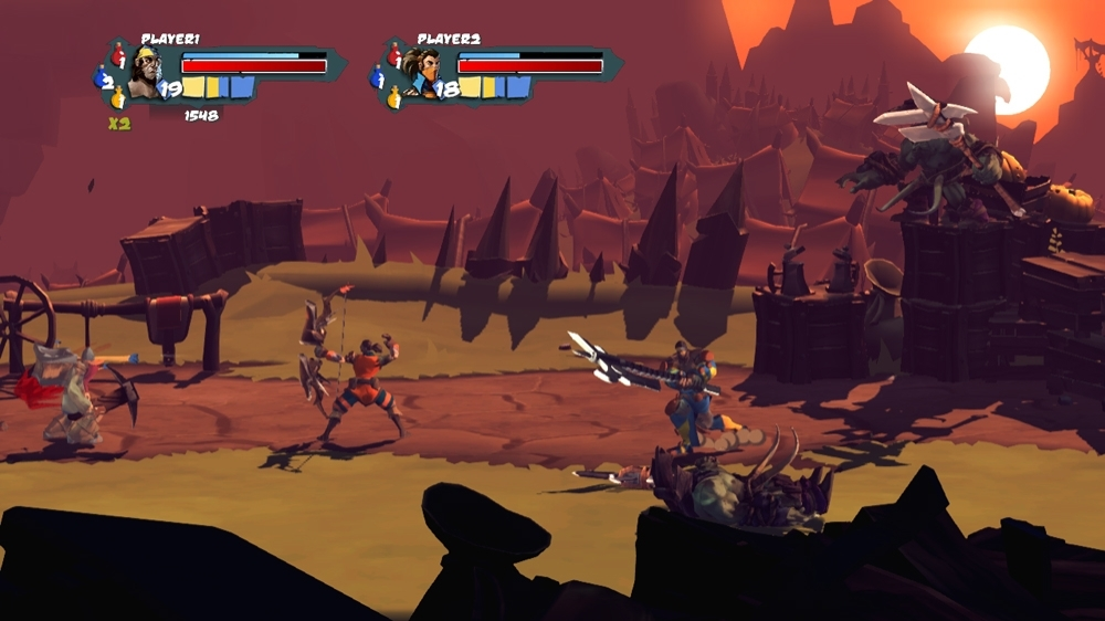 Image from Sacred Citadel Release Trailer