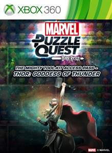Marvel Puzzle Quest: Dark Reign -The Mighty Tool-Kit Access Pass – Thor: Goddess of Thunder