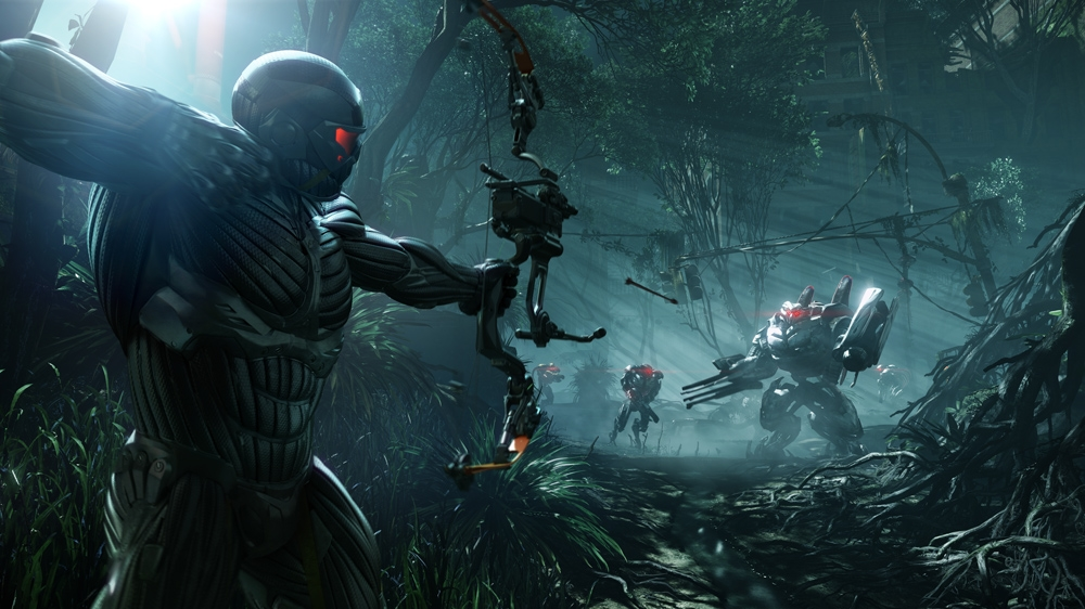 Image from Crysis 3 E3 Trailer 