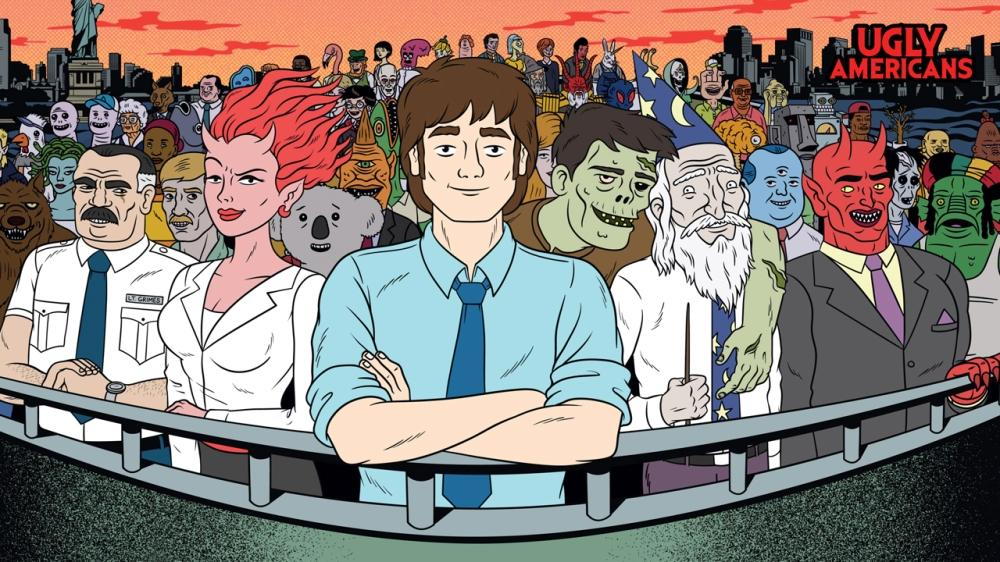 Image from Ugly Americans: Apocalypsegeddon Hell Theme