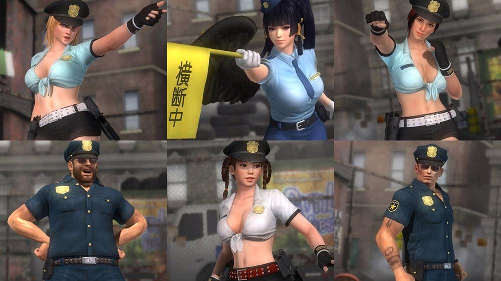 Image de Dead or Alive 5 Ultimate - Set Uniforme de police