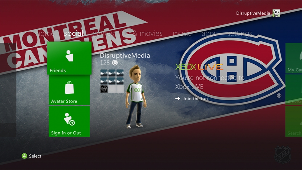 Image from NHL - Canadiens Highlight Theme