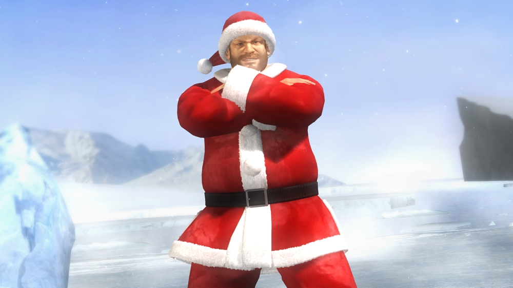 Image from Dead or Alive 5 Lil' Santas