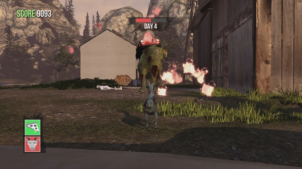 Image from Goat Simulator: GoatZ