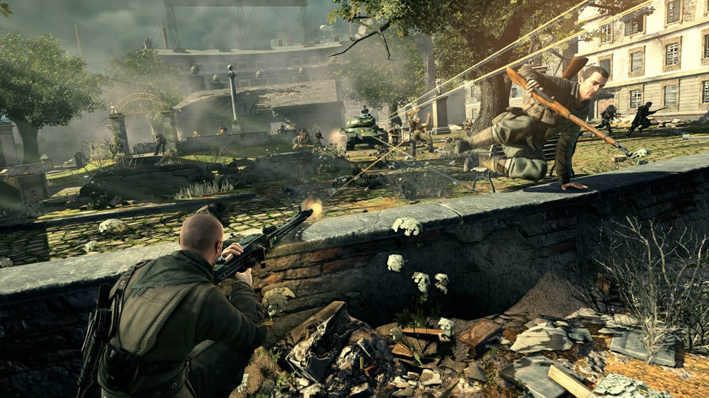 Kép, forrása: Sniper Elite V2 Explained