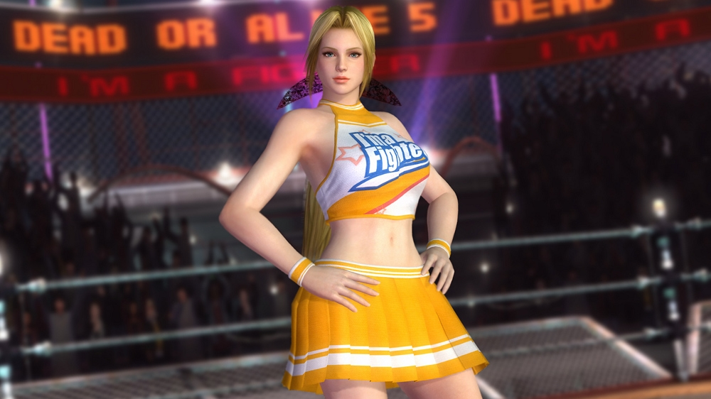 Image from Dead or Alive 5 Cheerleader Helena