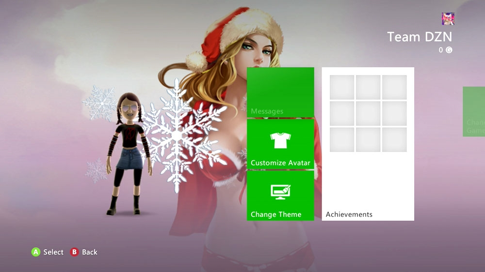 Image from Epic Christmas Pinup Premium Theme