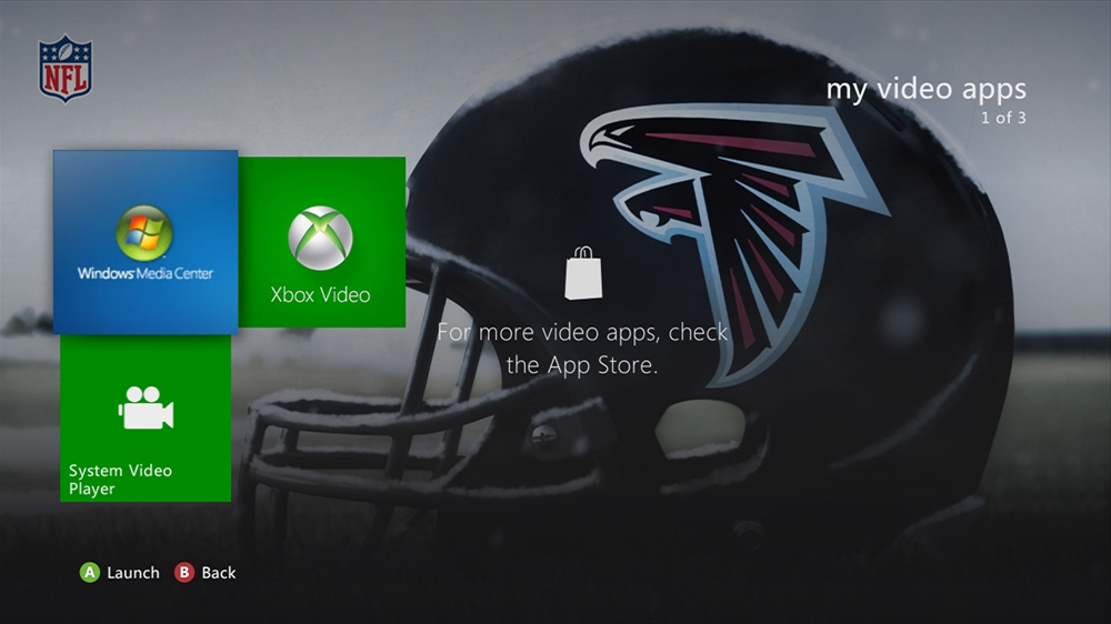 Image from NFL -  Falcons Helmet Theme
