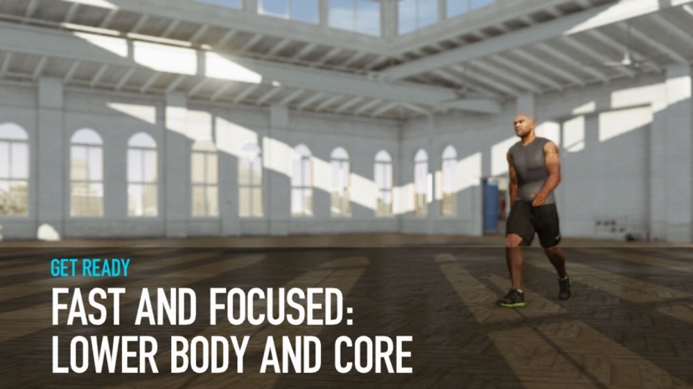 Image from Lower Body and Core Workout