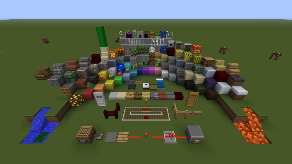Imagen de Packs de textura de plástico de Minecraft (prueba)