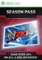 Pase de temporada de WWE 2K14
