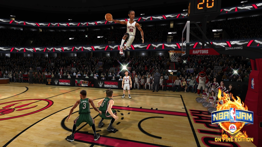 Image from NBA JAM: On Fire Edition - Producer Video 2 - Online Modes
