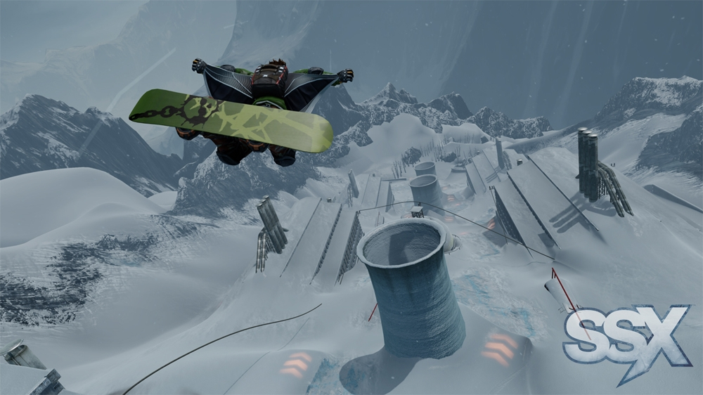 Image from SSX: SURVIVE IT Trailer