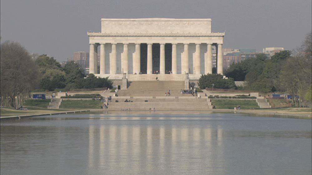 Image from Lincoln Memorial