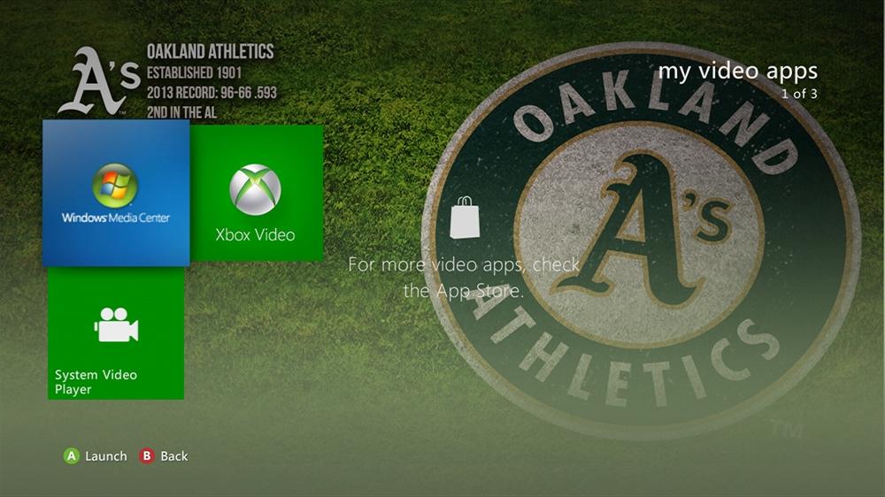Imagen de MLB - Athletics Dugout Theme