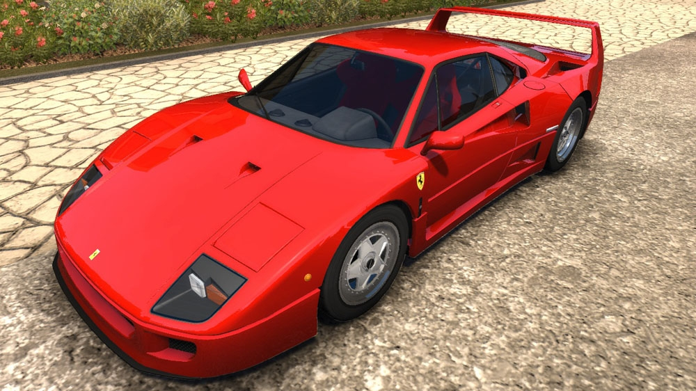 Image from TDU2: Ferrari F40