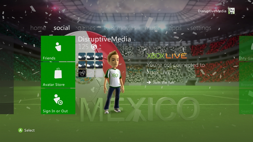 Imagen de World of Football - Mexico Theme