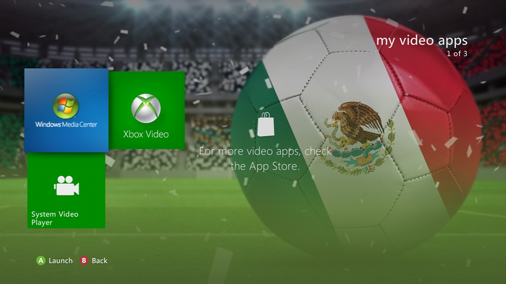 Image from World of Football - Mexico Theme