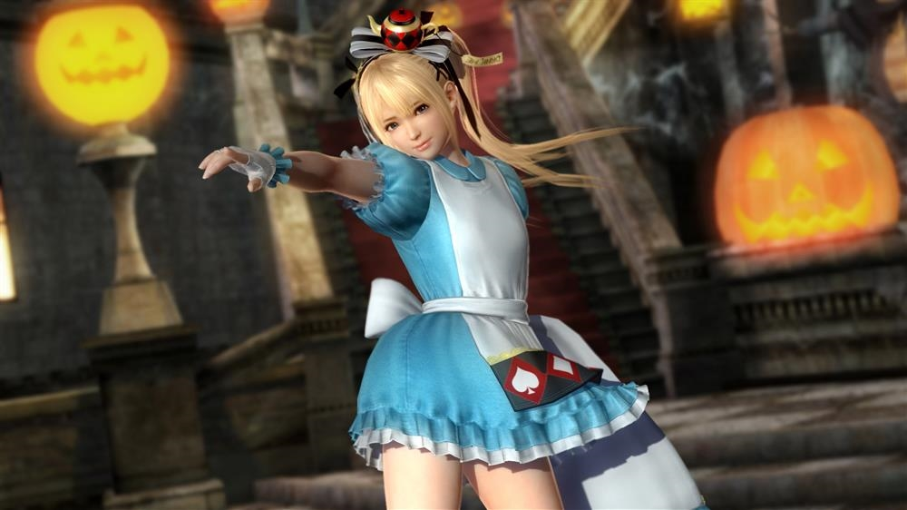 Image from DOA5LR Marie Rose Halloween Costume 2015