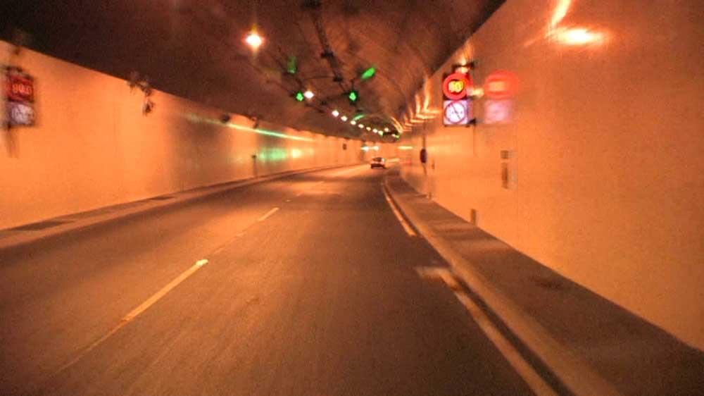 Image from Fast ride through a tunnel