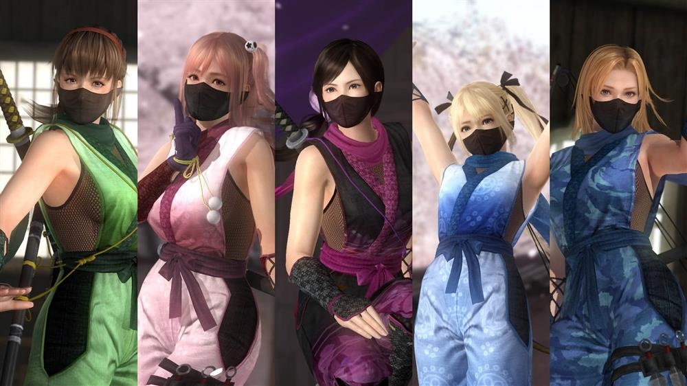 Image from DOA5LR Ninja Clan 1 Costume Set