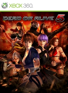 Dead or Alive 5 - Ayane cheerleader