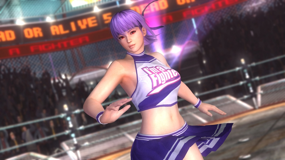 Image from Dead or Alive 5 Cheerleader Ayane