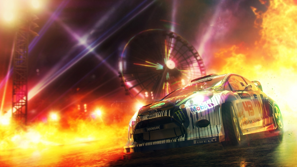 Kép, forrása: DiRT Showdown 8 Ball Gameplay Sizzle