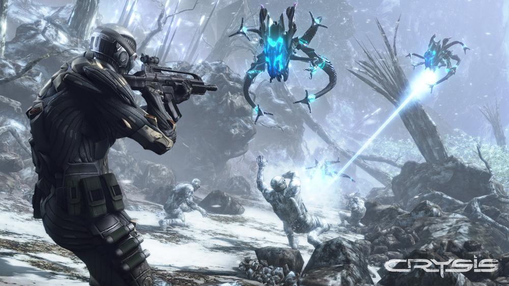 Snímek ze hry Crysis 1 Trailer