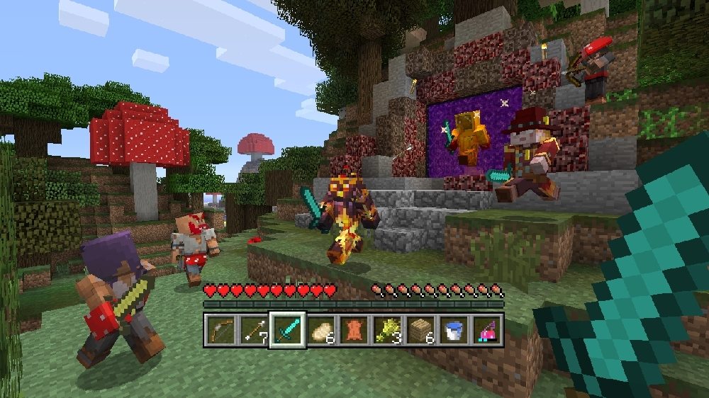 Image from Minecraft Biome Settlers Skin Pack 2