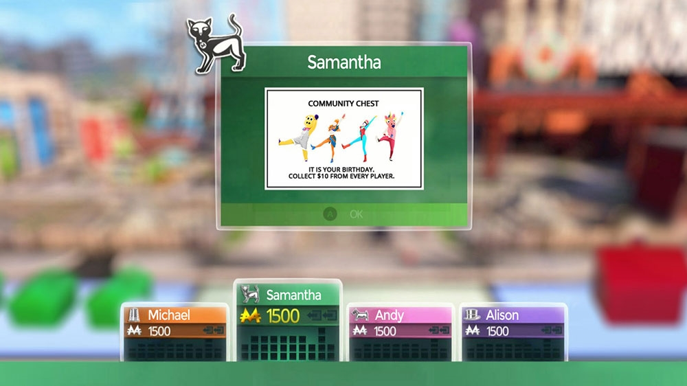 Image from Monopoly Just Dance DLC