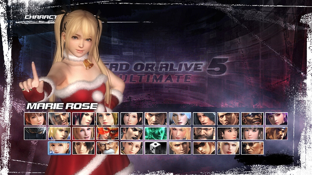 Image from Dead or Alive 5 Ultimate Santa's Helper Marie Rose